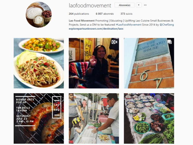 Lao Food Movement