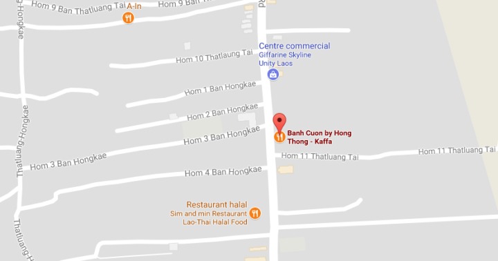 Map banh cuon